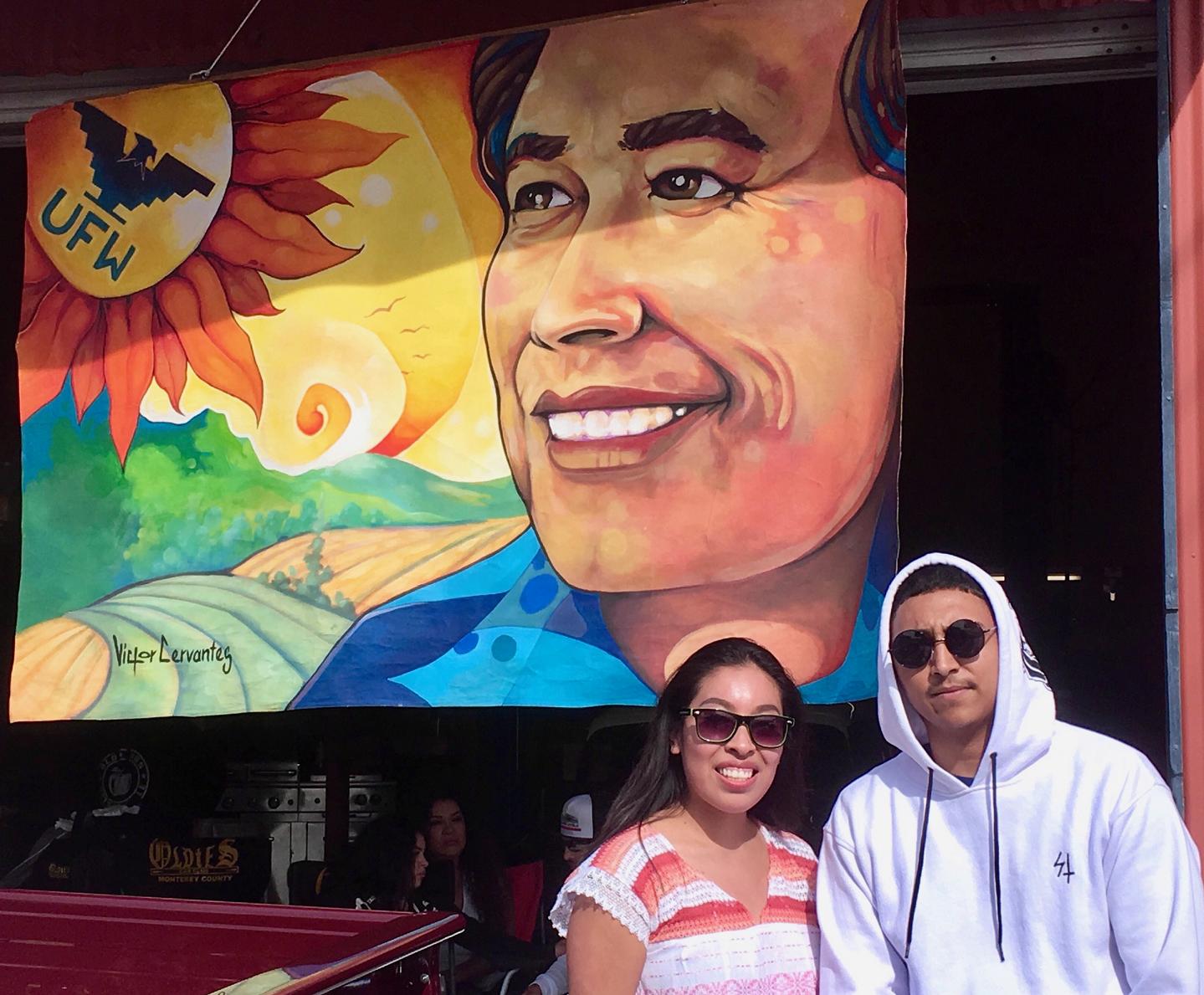 Alex Diaz at Cesar Chavez Day